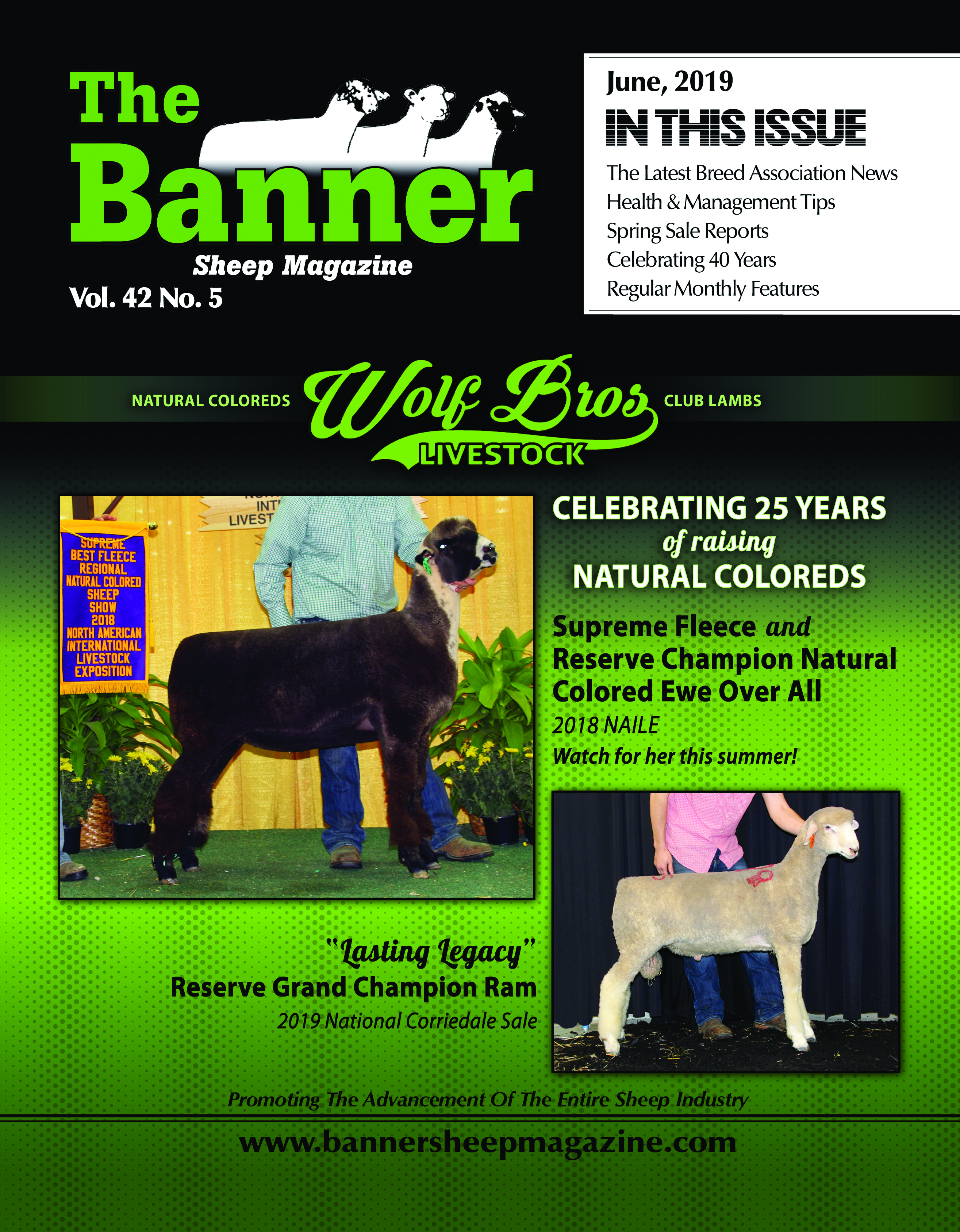 The Banner Sheep Magazine | The Nation's Largest All-Breeds Sheep